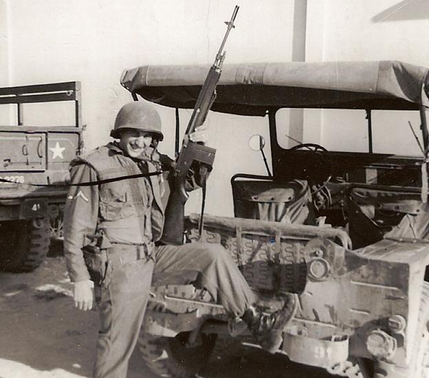 John Wojtowicz in the military