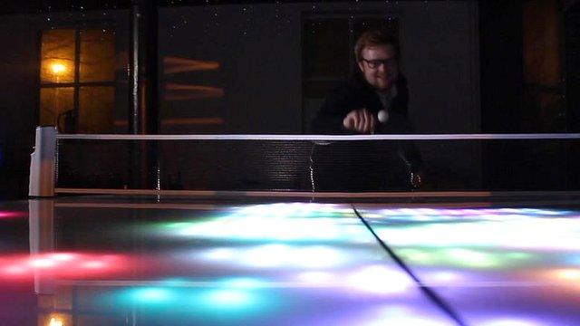 Playing digital ping pong