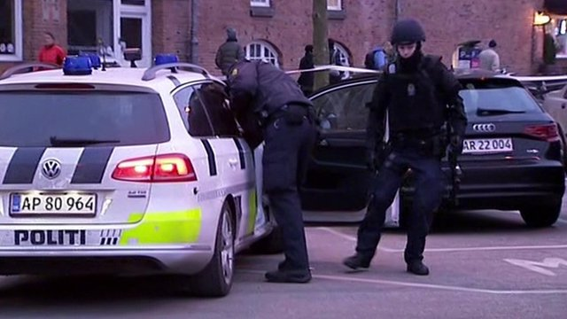 Danish police investigating a shooting at a debate in Copenhagen