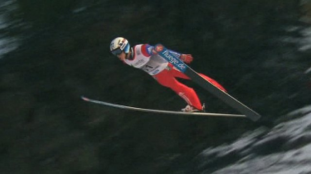 Norway's Anders Fannemel breaks ski jump world record