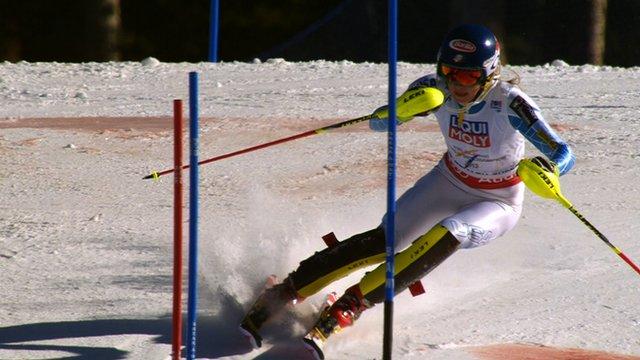 Mikaela Shiffrin wins gold