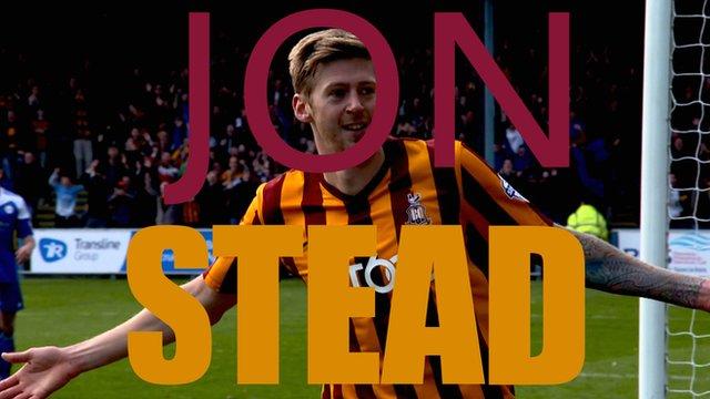 Bradford City's Jon Stead