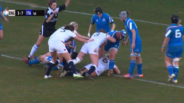 England's women face Italy