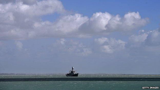 The Tyr Icelandic coastguard vessel