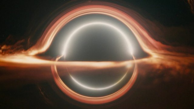 A virtual black hole