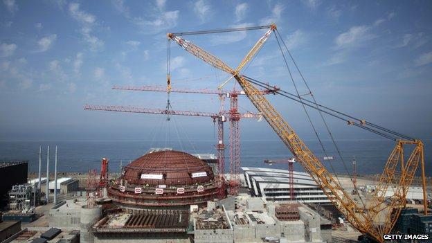 Flamanville nuclear power plant