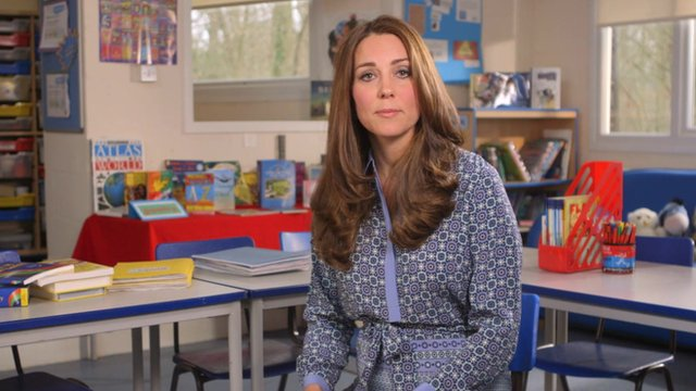 The Duchess thinks kids' mental health needs to be taken seriously