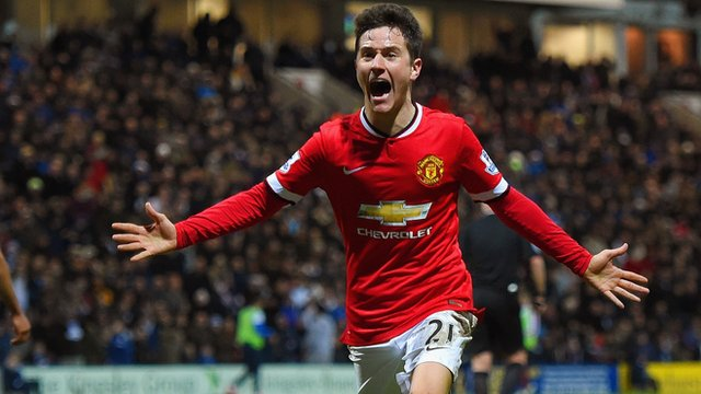 FA Cup: Manchester United's Ander Herrera scores equalises