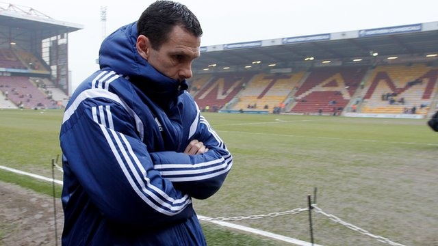 Sunderland boss Gus Poyet after their 2-0 FA Cup defeat by Bradford