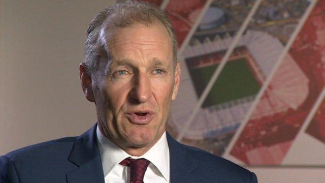 Southampton chairman Ralph Krueger