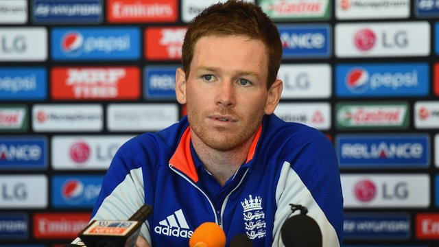 England's Eoin Morgan
