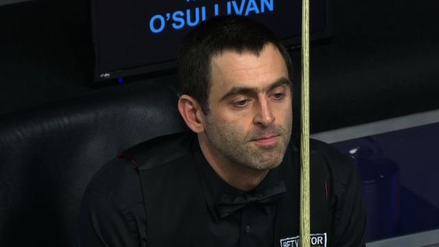Welsh Open: Ronnie O'Sullivan knocked out by Matthew Stephens