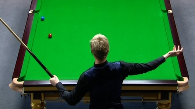 Neil Robertson questions cue ball movement