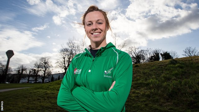 Megan Frazer looking forward to start of Olympic journey with Ireland