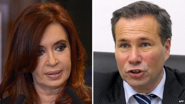Cristina Fernandez de Kirchner and Alberto NIsman