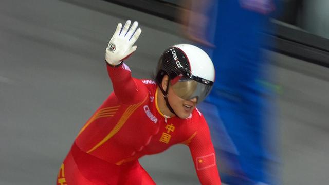 World Track Championships 2015: China's women win Team Sprint