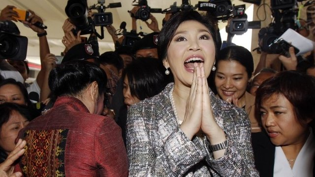 File phonot of Yingluck Shinawatra