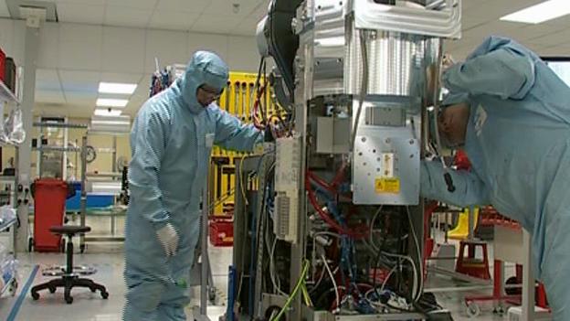 Hi-tech manufacturing in Newport