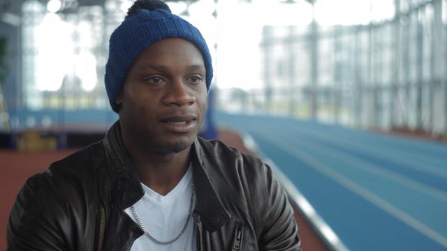 Former world 100m record holder Asafa Powell