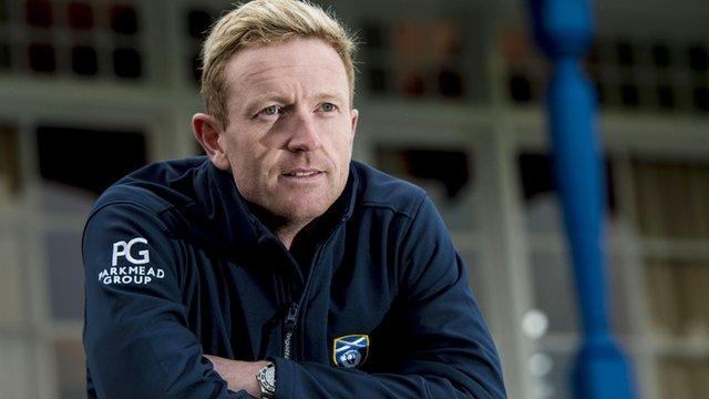 Cricket Scotland's specialist coach Paul Collingwood