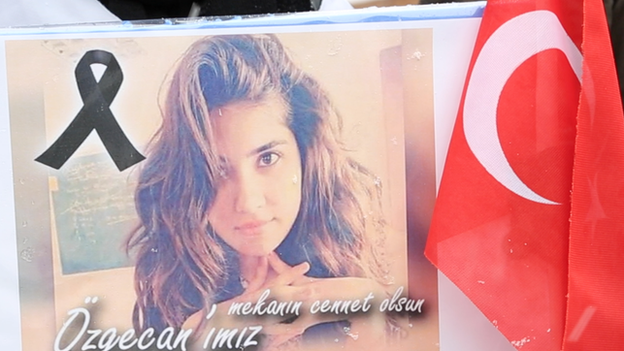 Picture of 20-year-old student Ozgecan Aslan