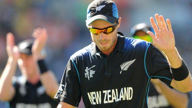 New Zealand bowler Tim Southee