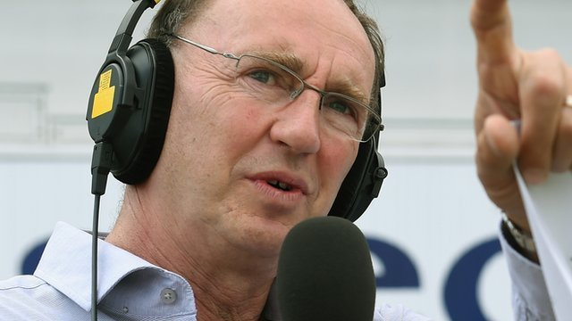 BBC cricket correspondent Jonathan Agnew