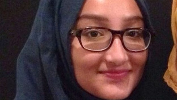Kadiza Sultana, 16, who is believed to be travelling to Syria