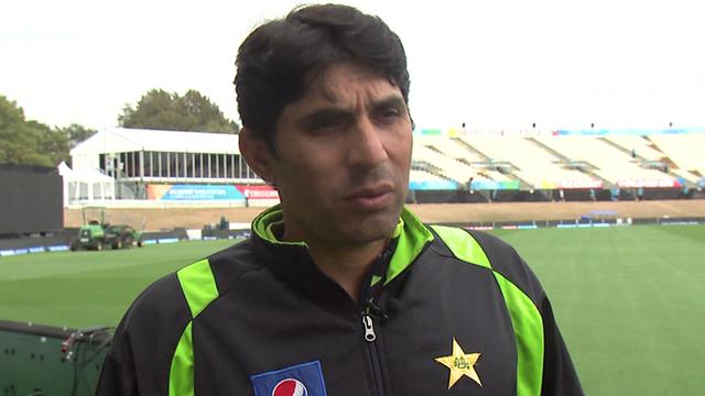 Pakistan cricket captain Misbah-ul-Haq