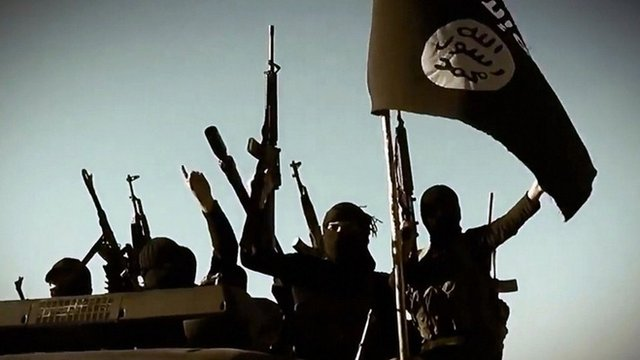 Islamic state fighters - file image