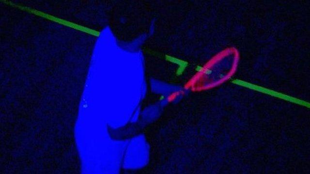 UV squash player
