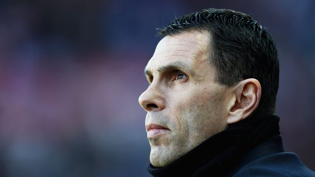 Sunderland manager Gus Poyet during his side's 0-0 draw with West Brom.
