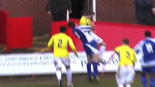 Angry player 'body slams' opponent