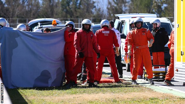 BBC Sport - Fernando Alonso: McLaren driver faces further hospital tests
