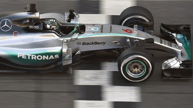 Mercedes' Nico Rosberg tests for Williams in Barcelona