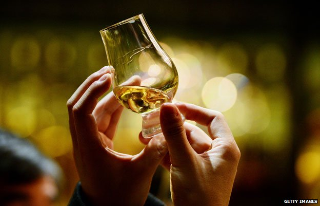 A sample of Scotch whisky
