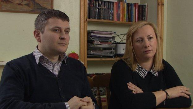 Szymon a Sonia Taisner