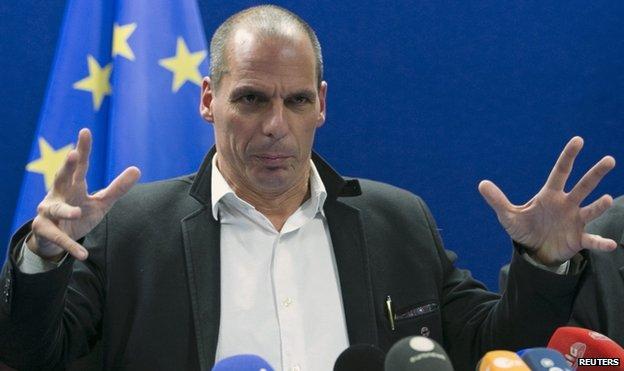 Greek Finance Minister Varoufakis (20 Feb)