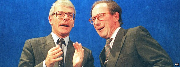 John Major and Malcolm Rifkind