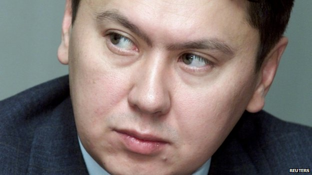 Undated photo of Rakhat Aliyev