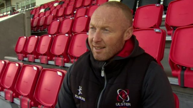 Ulster coach Neil Doak