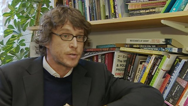 Dr Andy Williams, Cardiff University School of Journalism