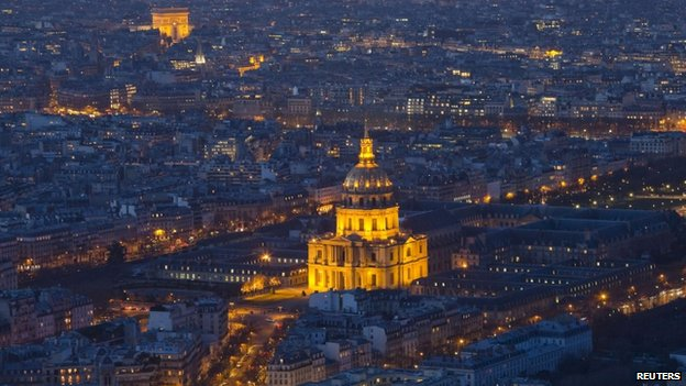 Invalides military museum (file pic)