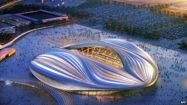 Al Wakrah Stadium (artists impression)