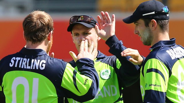 Ireland beat the UAE by two wickets