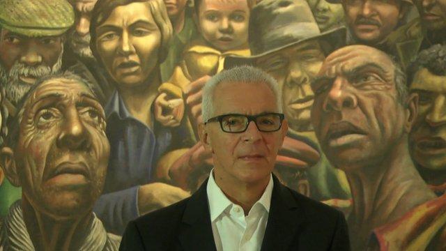 Eduardo Costantini at MALBA