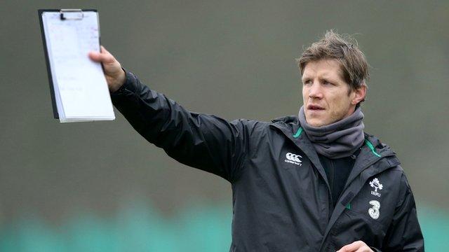 Ireland forwards coach Simon Easterby