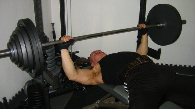 Natural Bodybuilder Rolandas Malinauskas