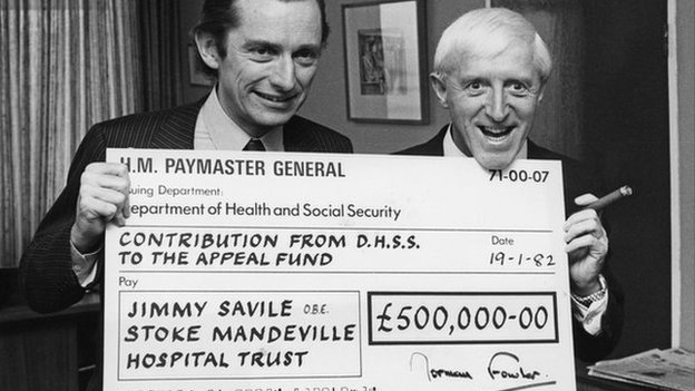 Jimmy Savile Norman Fowler