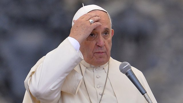 Pope Francis, file pic